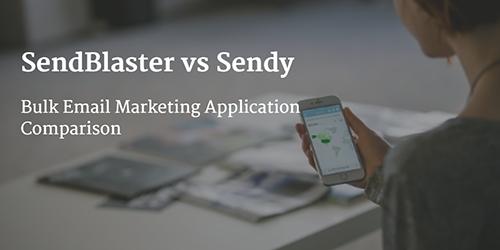SendBlaster vs Sendy