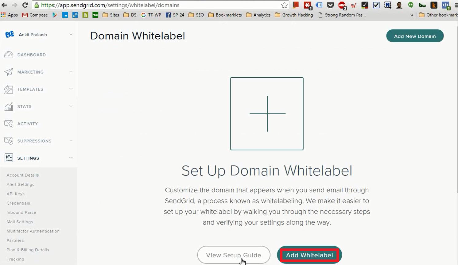 13.Add Domain