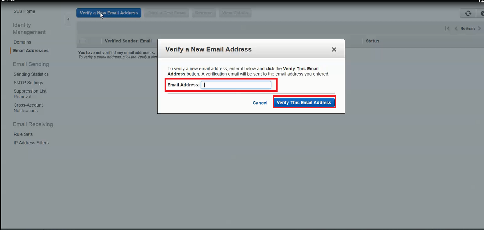19.Verify new email address