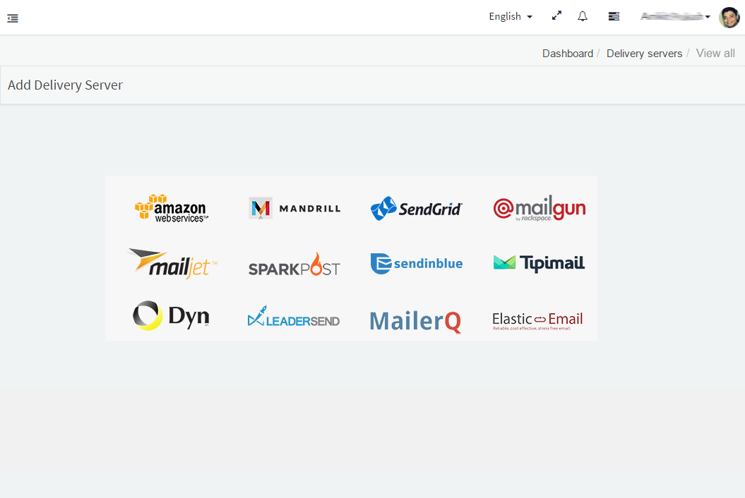 Context based email marketing tool integration available with multiple smtp