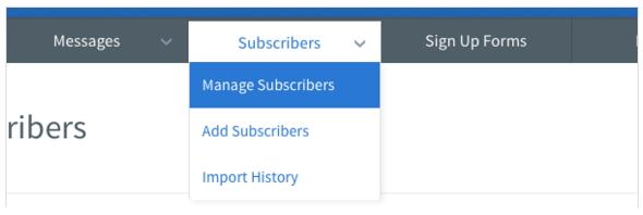 aweber-manage subscriber-1