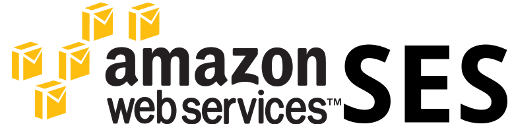 email marketing with Amazon ses logo