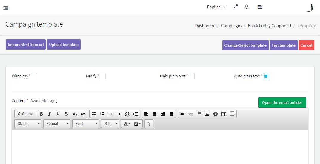 Using EasySendy Pro WYSIWYG Email Template Editor - EasySendy Pro