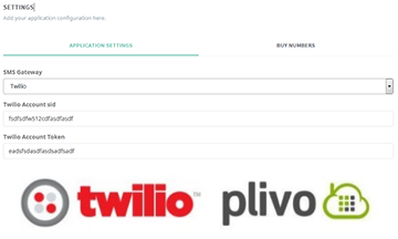 Twilio and Plivo SMS Gateway