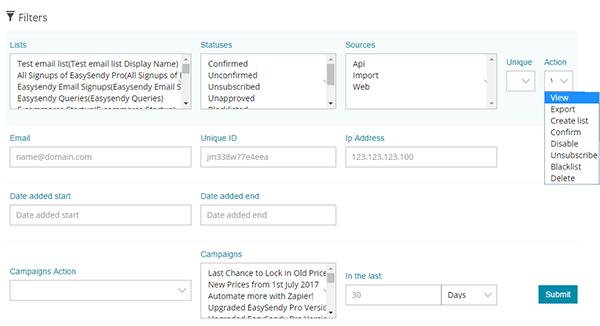 Email-segmentation with easysendy amazon ses