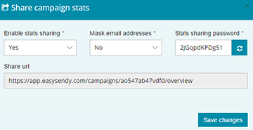 share-campaign in email marketing