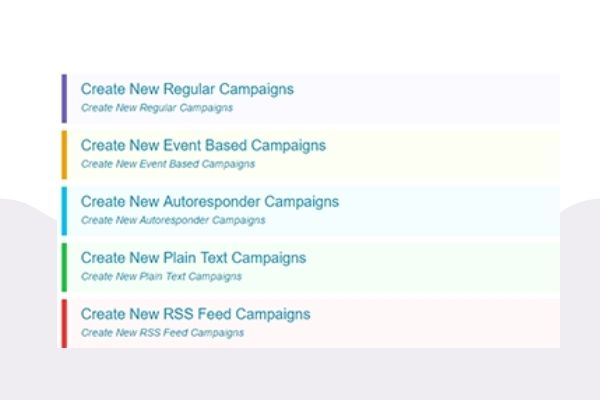 easysendy email campaigns