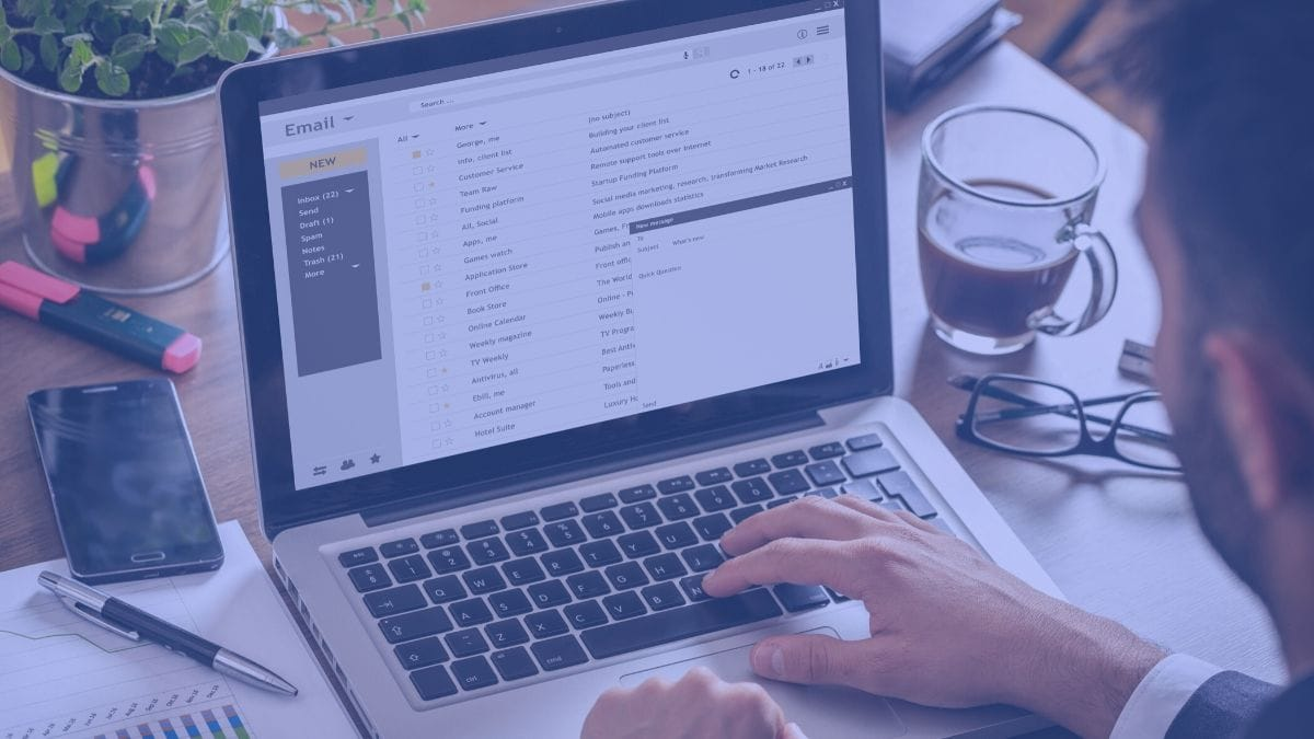 write an business email