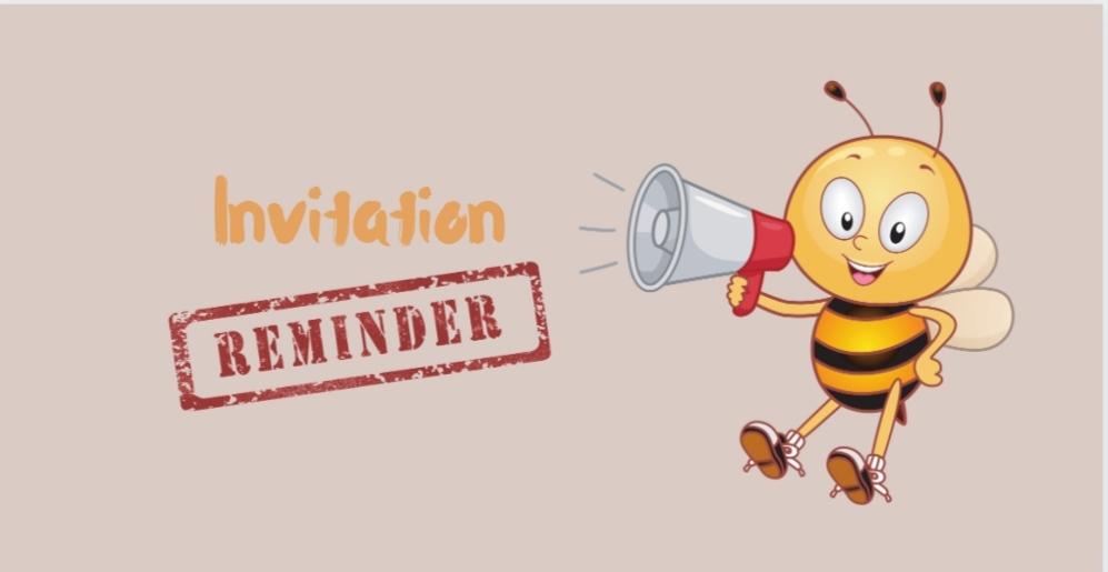 send reminder for webinar invitation