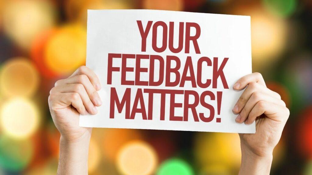 gather customer feedback
